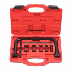 Heavy Duty 5 sizes Car Motorcycle Valve Spring Compressor Pusher Tool In Box