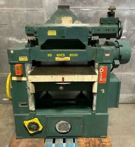 Oliver 299 d 24 Wood Planer Heavy Duty Woodworking Machine Feeder Needs Repair