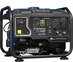 Westinghouse Igen4200 4 200 w Portable Rv Ready Gas Powered Inverter Generator