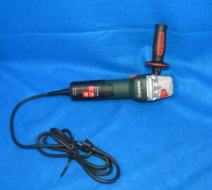 Metabo 120v Quick Corded Angle Grinder W 11 125