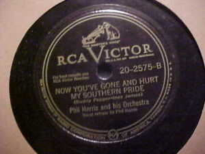 10 78 Rpm Phil Harris His Orch Loaded Pistols And Loaded Dice Southern Pride