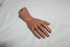 Vintage Mannequin Right Hand With Bent Wrist