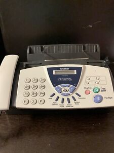 Brother Fax 575 Personal Fax With Phone And Copier Looks Good