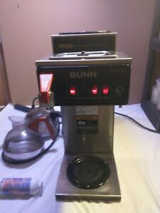 Bunn Coffee Maker Cw Series Cwtf15 Two Pots And Water Filter used And Working