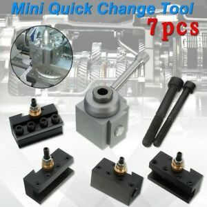 For Mini Lathe Quick Change Tool Post Holders Tool Tooling Package