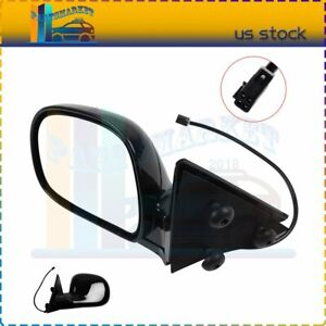 Driver Lh Side Power For 94 97 Chevrolet S10 95 97 Blazer Truck Suv View Mirror