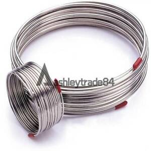 304 Stainless Steel Capillary Tube Od 3x0 5mm Length 1m Trachea Hose Coil New