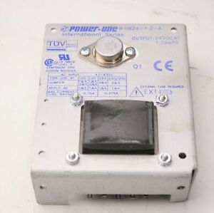Power one Hb24 1 2 a International Power Supply In 100 120 220 230 240 Out 24vdc