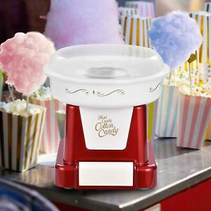 Commercial Home Cotton Candy Machine Sugar Floss Maker Party Electric Red
