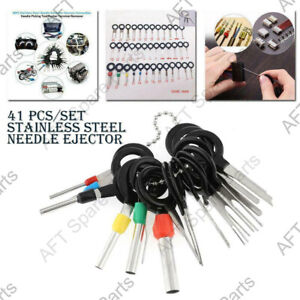 41x Wire Terminal Removal Tool Kit Car Electrical Wiring Crimp Connector Grand