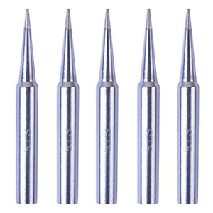 Bleiou 5 Pack Replacement St5 Soldering Iron Tips For Weller Wlc100 Spg40 Wp35