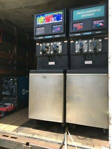 Taylor Icee Slushie Double Barrel Carbonated Frozen Drink Machine High Output