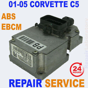 Repair Service 01 05 Corvette C5 Abs Ebcm Brake Module