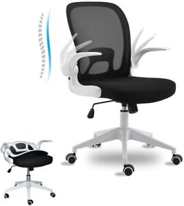 Ergonomic Office Chair Home Office Desk Chairs With Wheels And Flip up Arms