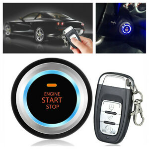 Universal Car Engine Starter Keyless Entry Remote Auto Control Locking System