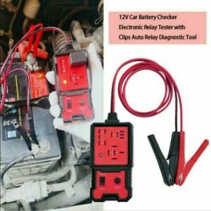 Us 12v Electronic Automotive Relay Tester For Cars Auto Battery Checker