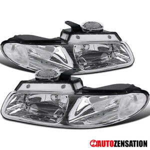 For 1996 2000 Dodge Grand Caravan Chrysler Town Country Clear Headlights Lamps
