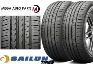 2 Sailun Atrezzo Sva1 Sva 1 255 35r20 97w All season Ultra High Performance Tire