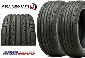 2 Americus Sport Hp 225 40zr18 92w All season Dry wet Traction Performance Tires