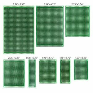 Universal Circuit Board Breadboard Double sided Fr 4 Pcb For Diy Project Durable