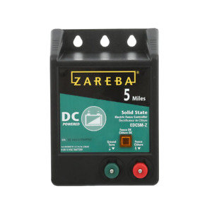 Zareba Fence Charger 5 miles Battery Operated Solid State