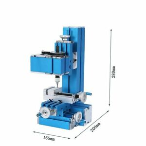 110v Mini Milling Machine Diy Wood And Soft Metal Processing Tools