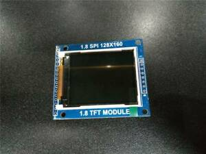 1 8 Mini Serial Spi Tft Lcd Module Display With Pcb Adapter St7735b Ic