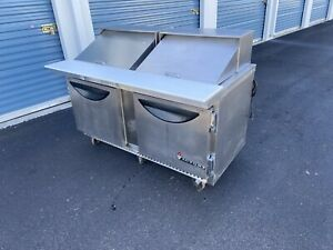 Refrigerated Pizza Sandwich Prep Cooler Table
