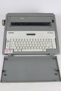 Brother Gx 8000 Correctronic Word Processing Portable Typewriter Tested works