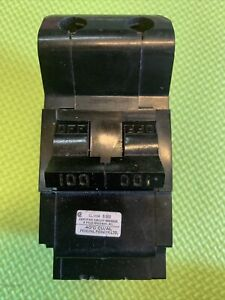 Federal Pioneer Stab lok 100 Amp 2 Pole Circuit Breaker Used And Tested