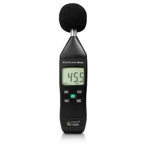 Sm 130db Digital Decibel Reader And Sound Level Meter Type 2 With Calibration