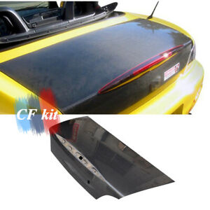 Carbon Fiber Rear Trunk Bootlid Boot Lid Body Kits For 01 08 Honda S2000 Ap1 Ap2