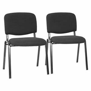 Office Guest Chairs Set Of 2 Reception Chairs Conference Chairs With Lumbar