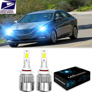 9005 Led Headlight 8000k For Hyundai Sonata 2016 2017 2018 2019 High low Beam