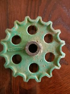 Vintage Oliver 2 Row Corn Planter Drive Cog gear 16 Tooth S 1074