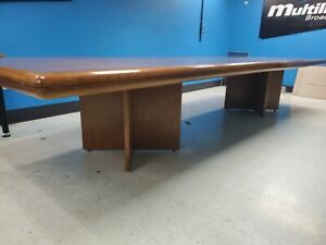 All Wood Conference Table board Room Table 14 l X 4 w X 30 H