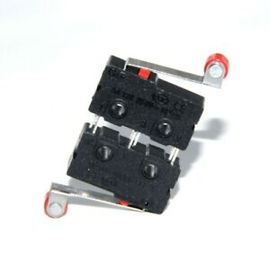Black Limit Switches Kw12 3 Micro Roller Lever Arm Supplies Set Kit Ac 125v 250v