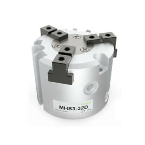 High Quality Pneumatic Finger Gripper Cylinder Mhs3 32d Double Acting Bore 32mm