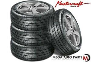 4 Mastercraft Lsr Grand Touring 195 65r15 Blk Sl All Weather Performance Tires