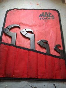 Mac Tools Kb225 Adjustable Pin Spanner Wrench 4 Piece Set