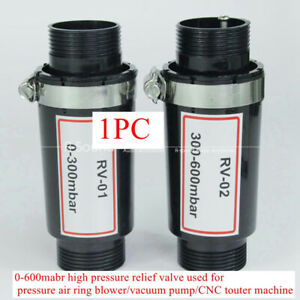 1x 0 600mabr High Pressure Relief Valve Used For Pressure Air Ring Blower vacuum