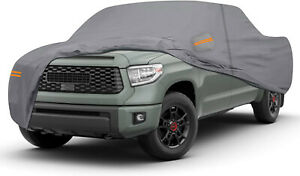 Waterproof Truck Cover For Toyota Tundra 2019 2021 Double Cab Pickup 6 6 Ft Bed