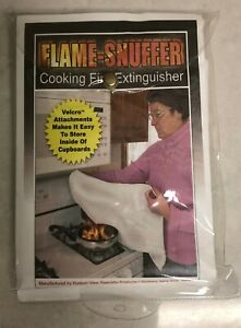 Flame snuffer Cooking Fire Extinguishing Blanket 30 X 30