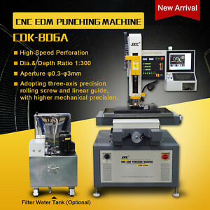 Cnc Super 0 3 3mm Hole Popper Small Hole Edm Drill Machine For Metal Processing