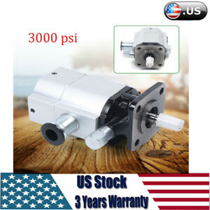 New Hydraulic Pump Log Splitters 13 Gpm 3000psi 2 Stage High low Gear Pump 1 8in