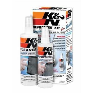Cabin Air Filter Cleaning Kit Cleaner Refresher Spray Bottle High Performance