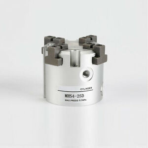 High Quality Pneumatic Finger Gripper Cylinder Mhs4 25d Double Acting Bore 25mm