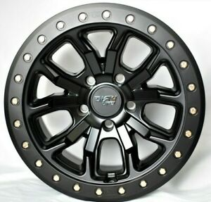 Dirty Life Dt 1 9303 Beadlock Off Road Wheels Rims Set Of 5 Jeep 17 Inch Black