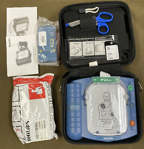 Philips Heartstart Hs1 m5066a Onsite Aed Defibrillator 2 Expired Batts Pads