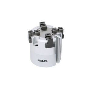 High Quality Pneumatic Finger Gripper Cylinder Mhs4 20d Double Acting Bore 20mm
